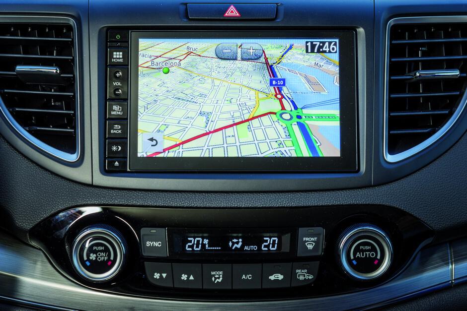 Honda CR-V 2015 Navigasjon