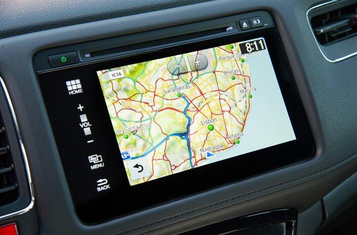 Honda HR-V Navigasjon