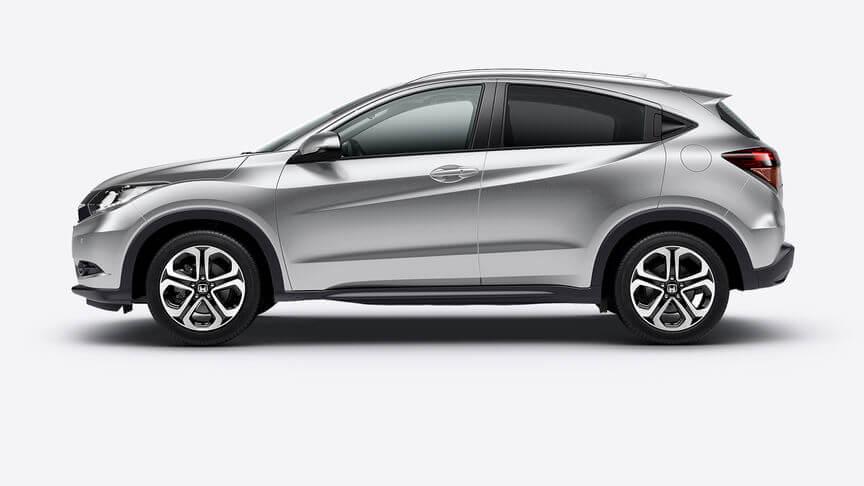 Honda HR-V Alabaster Silver Metallic