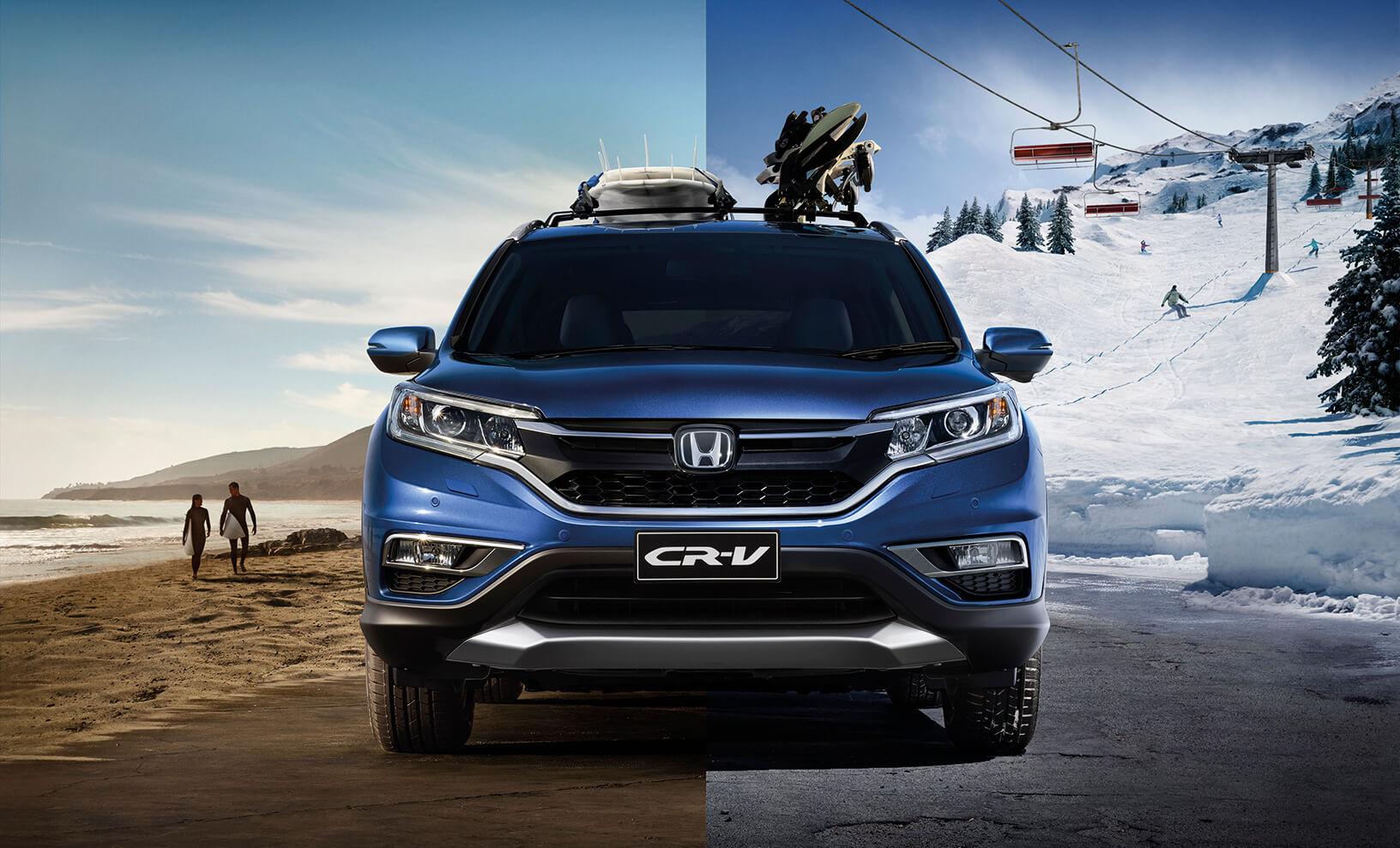 Kampanjemodell: Honda CR-V Elegance PLUSS