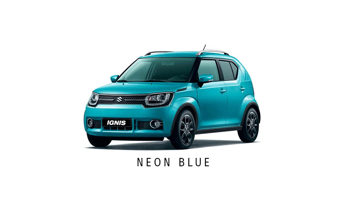 Neon-blue